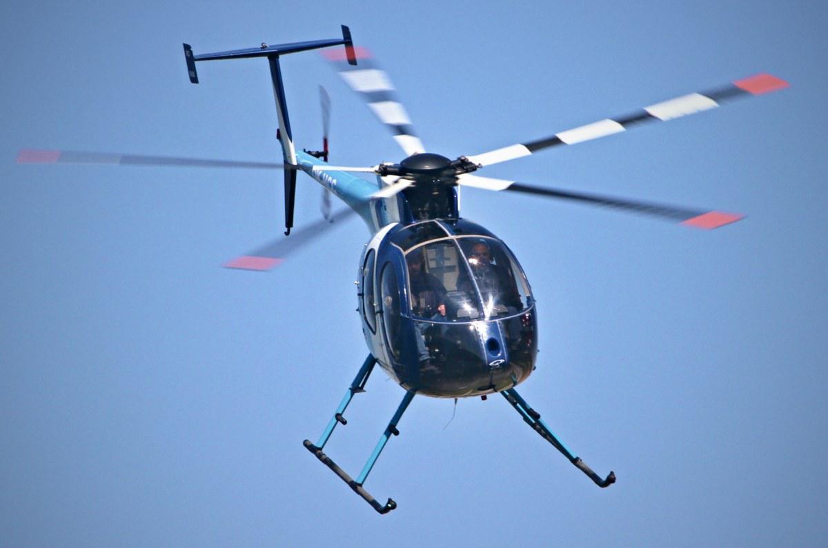 Adrenalinový let vrtulníkem MD 500E