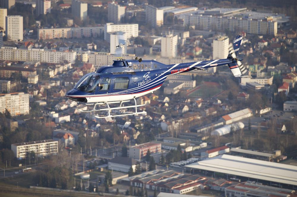 BÍLOVEC a okolí   Let vrtulníkem BELL 206 (17.07.2022)