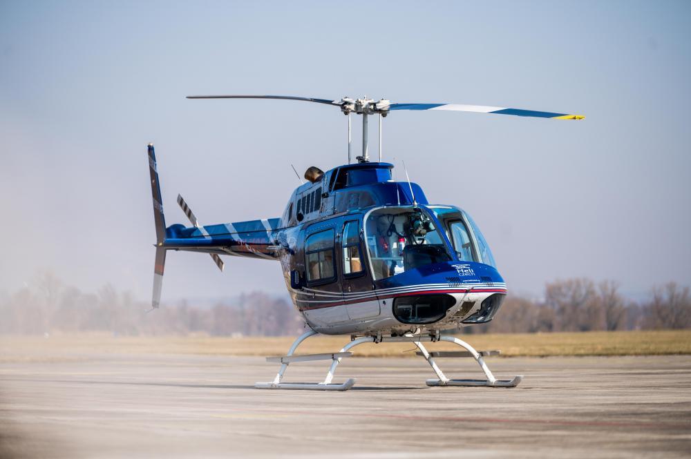 Let vrtulníkem   KŘIVSOUDOV a okolí (21.08.2021)