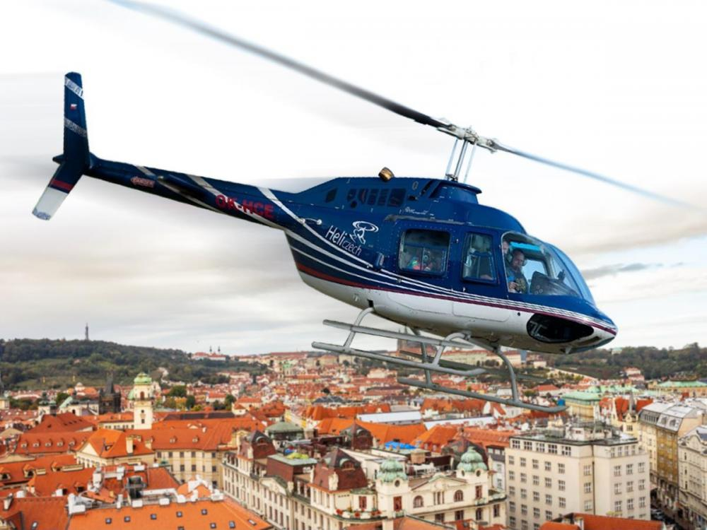 Let vrtulníkem | PRAHA a okolí