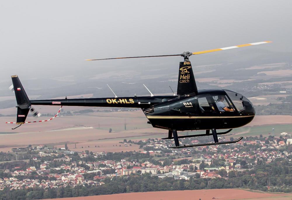 NOVÉ MĚSTO NA MORAVĚ a okolí   Let vrtulníkem Robinson R44 (06.08.2022)