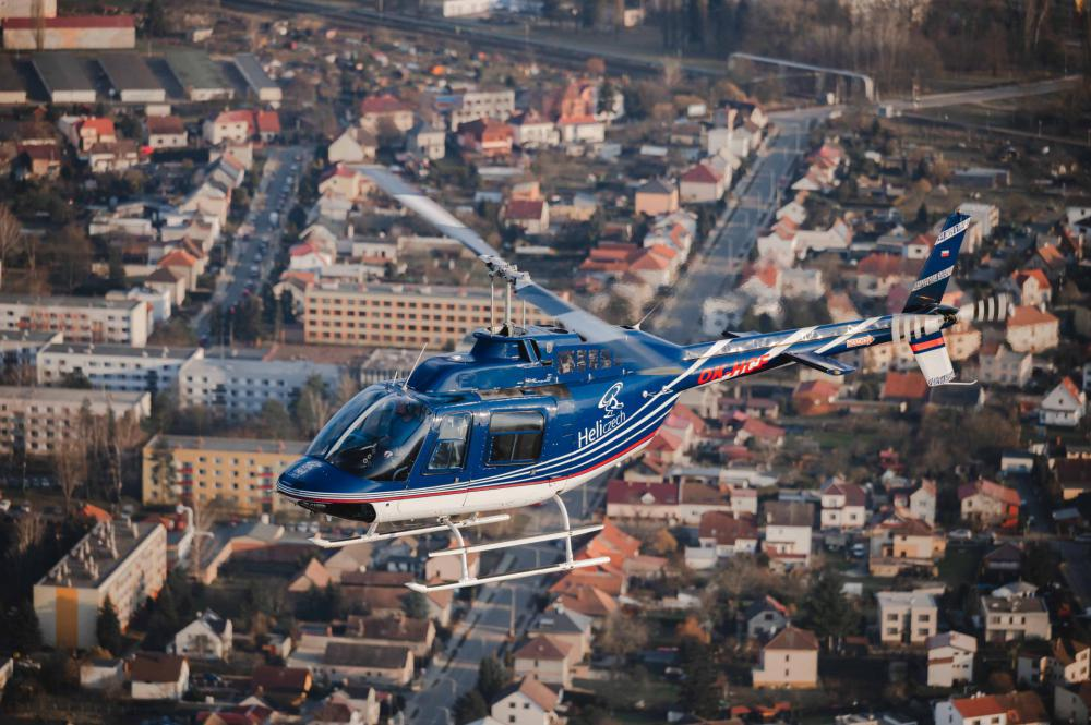 NÝRSKO a okolí | Let vrtulníkem BELL 206 (24.04.2022)