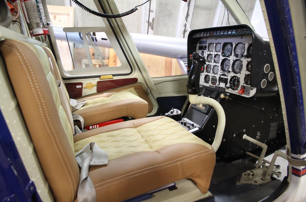 Pilotem vrtulníku BELL 206B