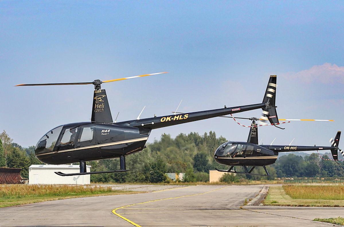 Pilotem vrtulníku R44