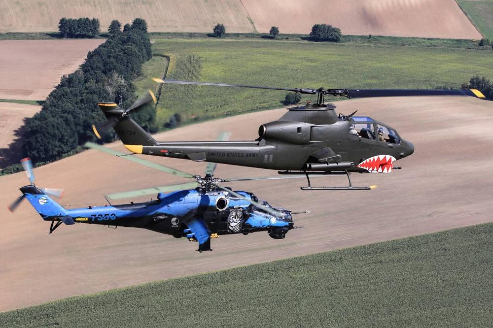 SEMINÁŘ - AH-1 Cobra vs. Mi-24 Hind